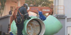 Obra da Sanepar vai afetar o abastecimento de água de 750 mil pessoas em Curitiba e Região